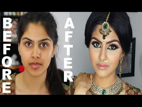 Use your Sigma brushes to replicate this Indian/Bollywood/South Asian Bridal Makeup | Start to Finish | Mona Sangha - YouTube