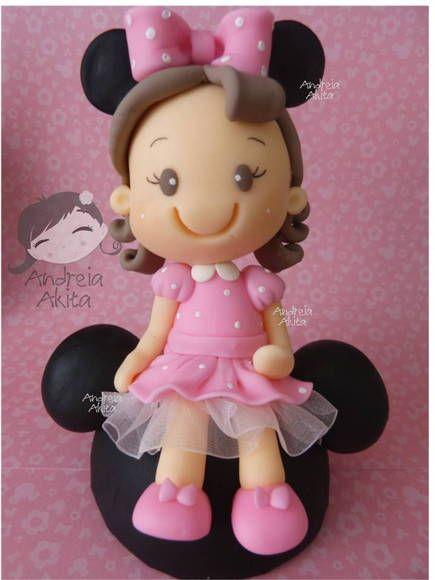 Menina Minnie Mouse