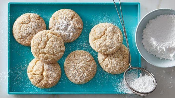 NEW Vanilla Bean Sugar Cookie Crinkles