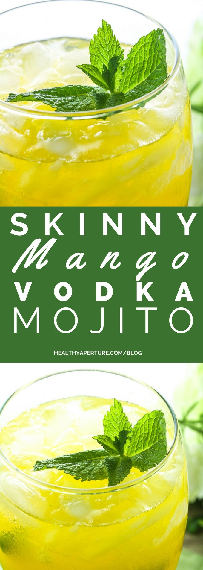 Use light mango passion fruit juice, fresh mint and lime juice with vodka to…