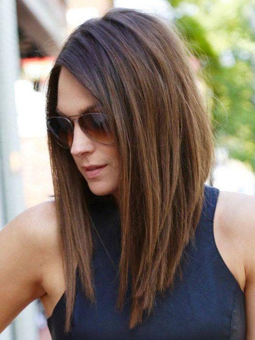 Как сделать боб каре на длинных волосах