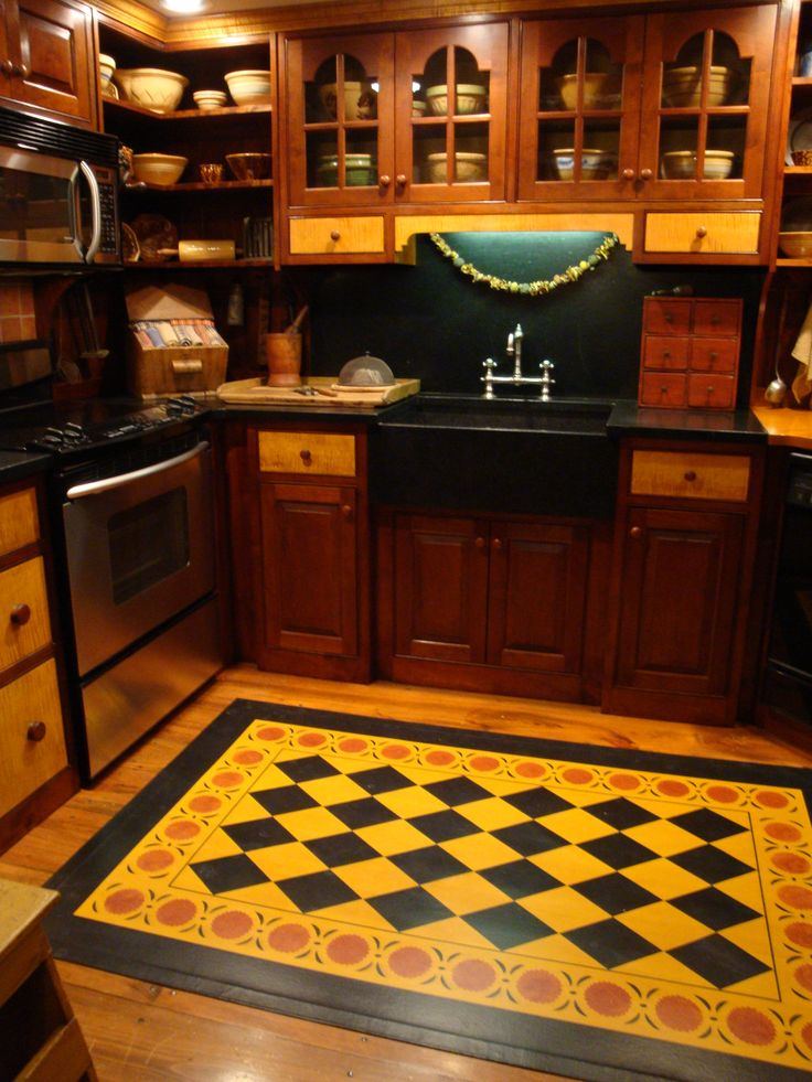 203 Best Images About Floor Cloth On Pinterest