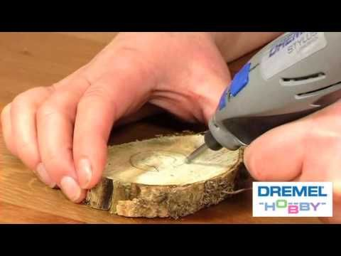 What Bits I Use Dremel Wood Carving - YouTube