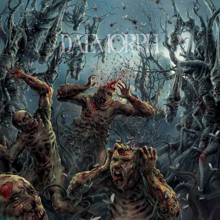 "The art of Daemorph DELUSIONAL PARASITOSIS ""Ingurgitating Intestinal Rot"" CD"