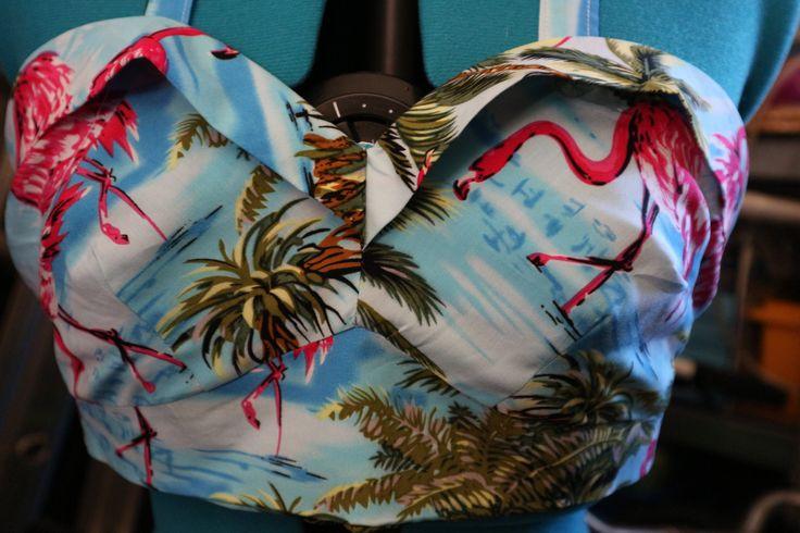 Flamingo Bra top
