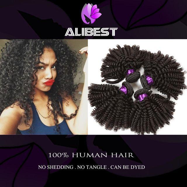 Remy Queen Hair Products 6A Brazilian Kinky Curly Virgin Hair Cheap 3pcs/lot Mongolian Virgin Hair Kinky Curly Human Hair Weaves