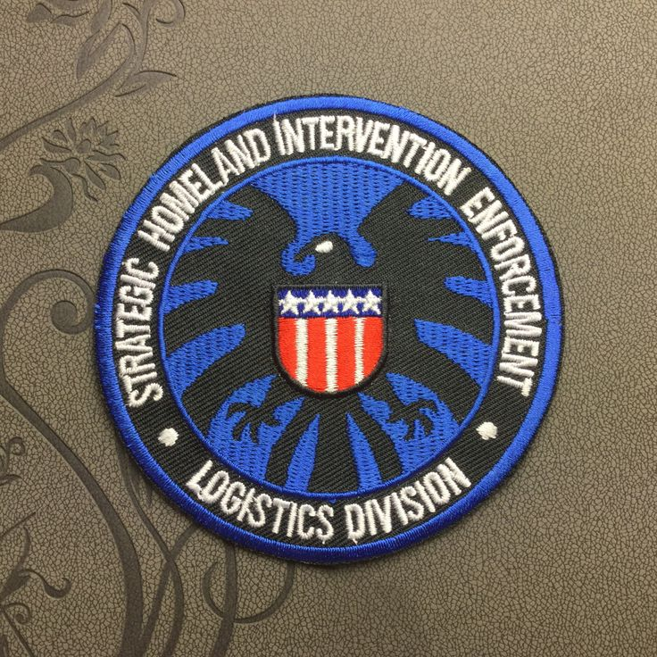 Avengers Shield Patch Embroidered Iron On Patches sew on patches Animation patch