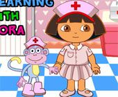 Dora And Boots Injection Games
