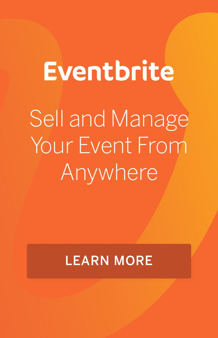 Use event technology as mobile as you are. Track your progress and sell tickets from anywhere with  the Eventbrite Organizer app.