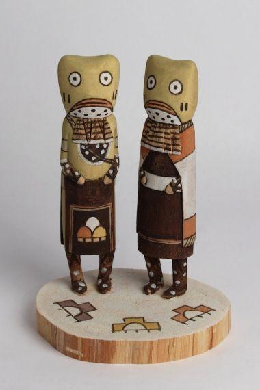 frog_pair by Bryant Mavasta Honyouti :  Hopi
