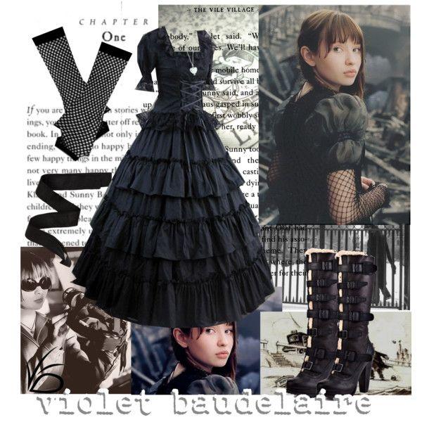 Violet Baudelaire by princesschandler on Polyvore ...