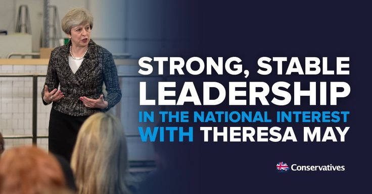 """Strong and stable leadership"": inside the Conservatives' election slogan http://descrier.co.uk/politics/strong-stable-leadership-inside-conservatives-election-slogan/"