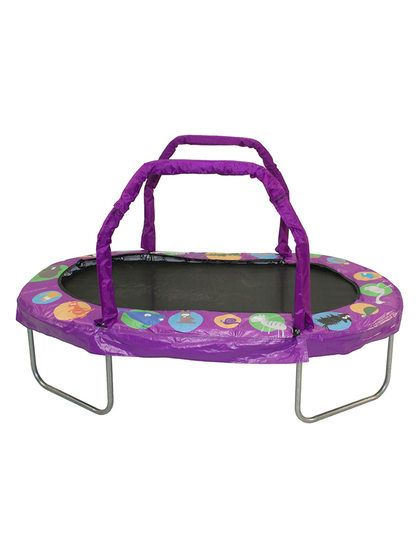 Jumpking Mini Oval Trampoline by Bazoongi at Gilt