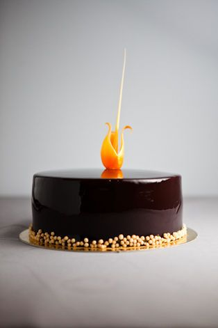 Peanut butter-Raspberry Jam Entremet from Pastry Chef Salvatore Martone of Four Seasons – New York, NY