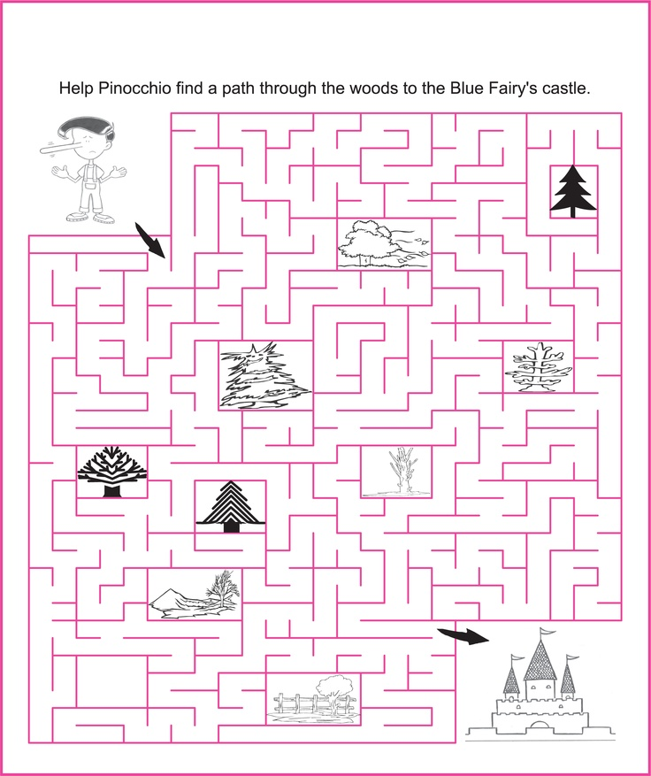 Pinochio's Journey - Fairy Puzzles and Activities for Kids