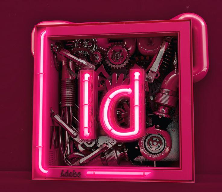 Adobe InDesign Neo-Cube on Behance