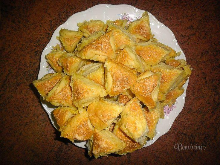 Česnekové trojúhelníčky