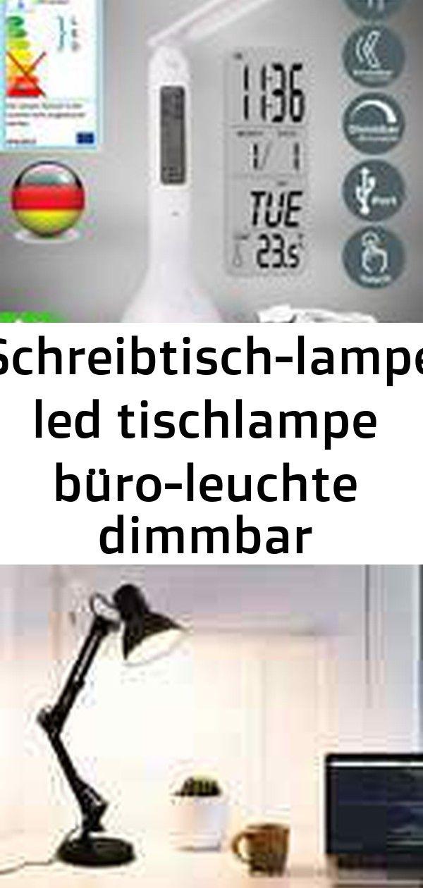 Schreibtisch Lampe Led Tischlampe Buro Leuchte Dimmbar Nachttischlampe Touch Lcd Beleuchtung 3 Power Decor Electronic Products