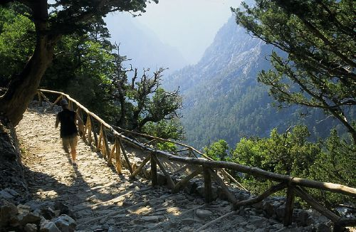 samaria gorge, greece