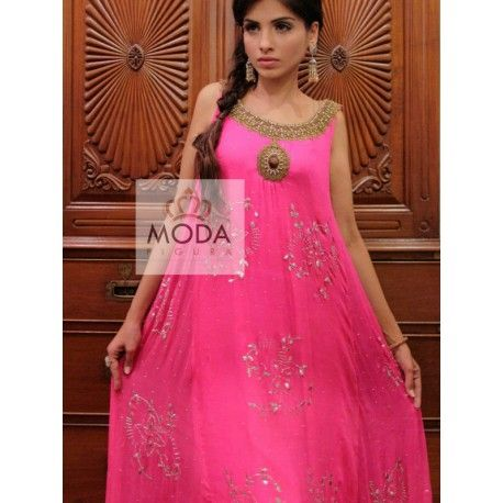 Indo western suit for women.