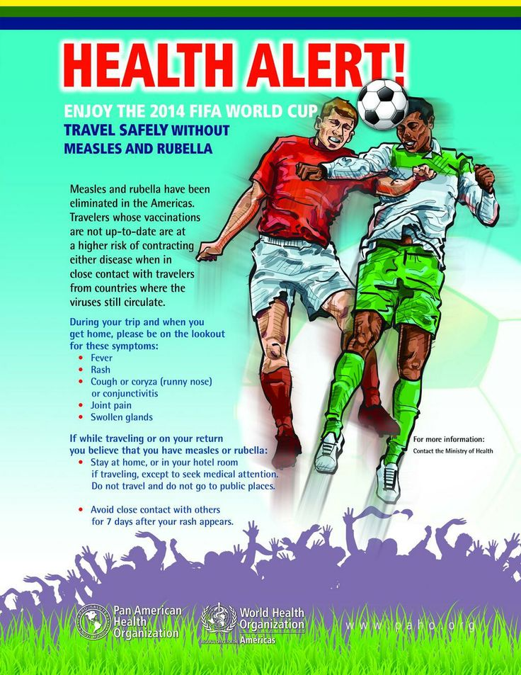 Don't just watch for #WorldCup goals, but also measles symptoms: fever, rash, cough, runny nose, joint pain. - #WHO  Go: www.clkmedicalsupply.com