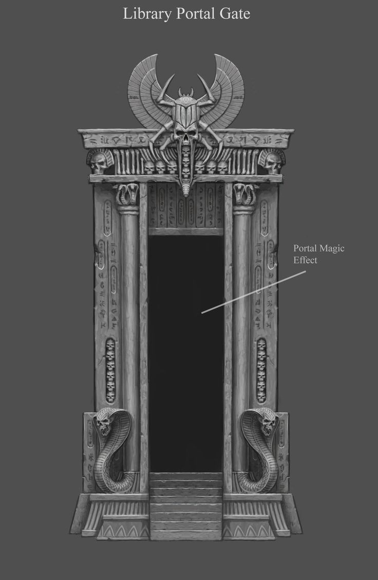 ArtStation - Portal Doorway, Sven Bybee
