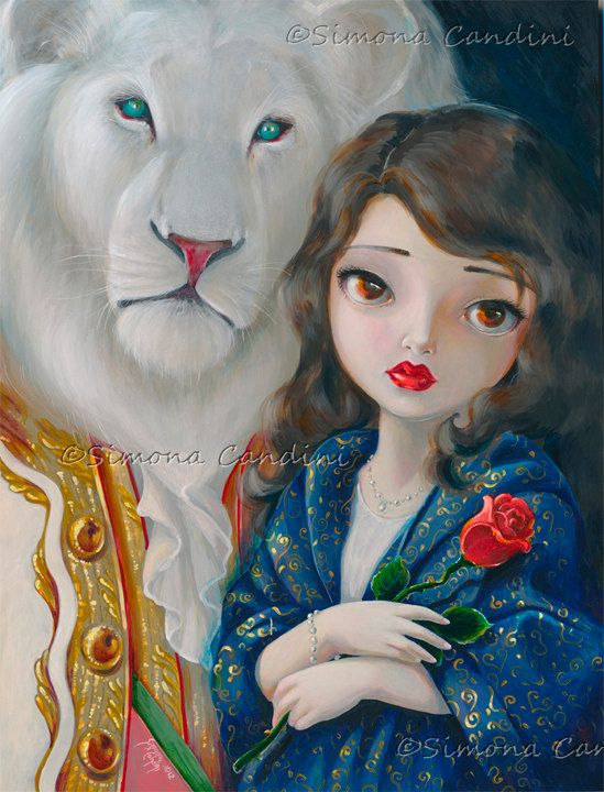 Hey, I found this really awesome Etsy listing at http://www.etsy.com/listing/126760684/beauty-and-the-beast-signed-print-simona