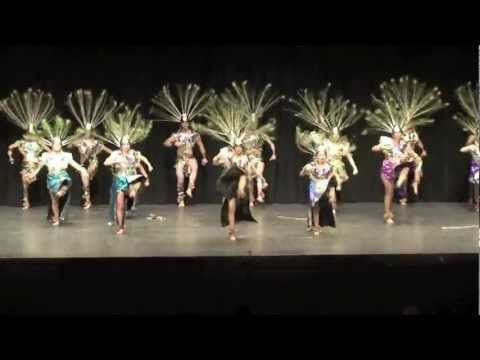 This is a video of El Sol Dance Company Danza Azteca.   Attend or watch some amazing Native American dance events and see if your interested.