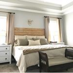 Bed makers unite For real though do you make your bed each day  I have to or I cant sleep at night No way I can get into messed up sheets ilovethislittlecorner athomewiththebarkers bedmaking simplehomestyle simplyme bedroominspo southerncharm neutraldecor