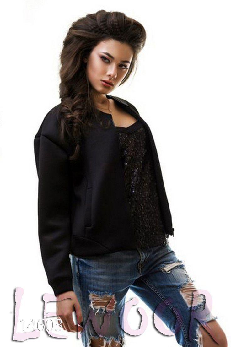 Практичная куртка из неопрена - купить оптом и в розницу, интернет-магазин женской одежды lewoor.com