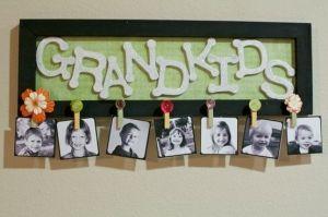 DIY: Grandkids Picture Sign