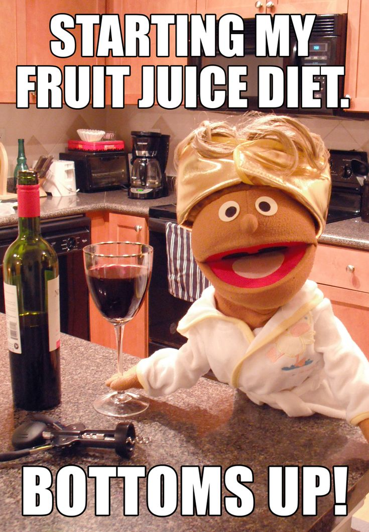 Buy the magnet here: http://www.zazzle.com/mariannehawthorne Starting my fruit juice diet ...