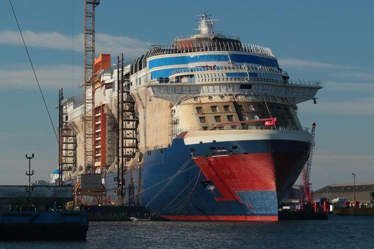 https://flic.kr/p/25hesFQ | CELEBRITY EDGE | Cruise ship under construction in St Nazaire by STX shipyard