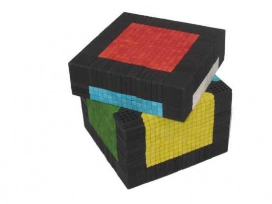 Rubik's Cube table: so cool, but it could drive guests insane