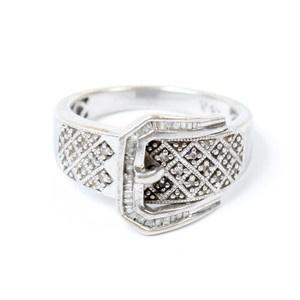 1970 Sterling Belt Ring