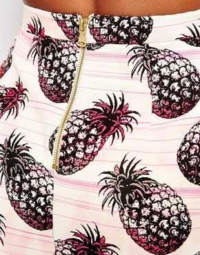 Enlarge River Island Pineapple Skirt