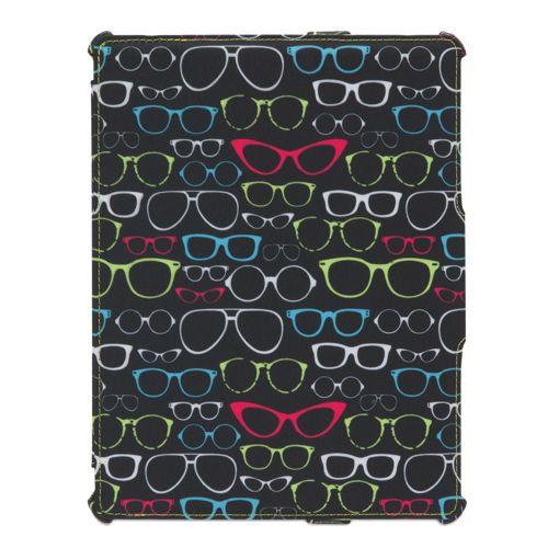 Étui Sunscreen Journal de Griffin pour iPad 2, iPad 3 et iPad 4 (GB36242) - Noir-rose