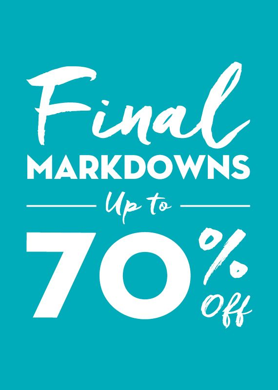Don't Miss Out On The Sale Of The Summer! Find the perfect steals and deals with savings up to 70% off. www.ingledews.com