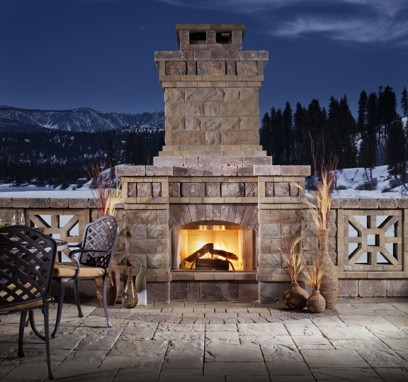 Today marks the first day of winter and we can feel the chill in the air is it snowy yet where - Cozy outdoor living spaces connecting mother nature ...