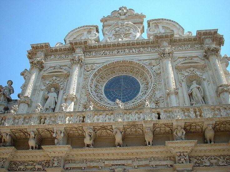 Santa croce - Basilica di Santa Croce (Lecce) - Wikipedia