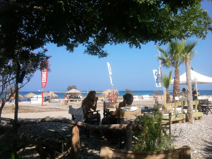 Mylos Lively happening Beach Bar, day and night popular with tourist and locals alike http://www.kosexplorer.com/place/mylos-beach-bar-kos-island
