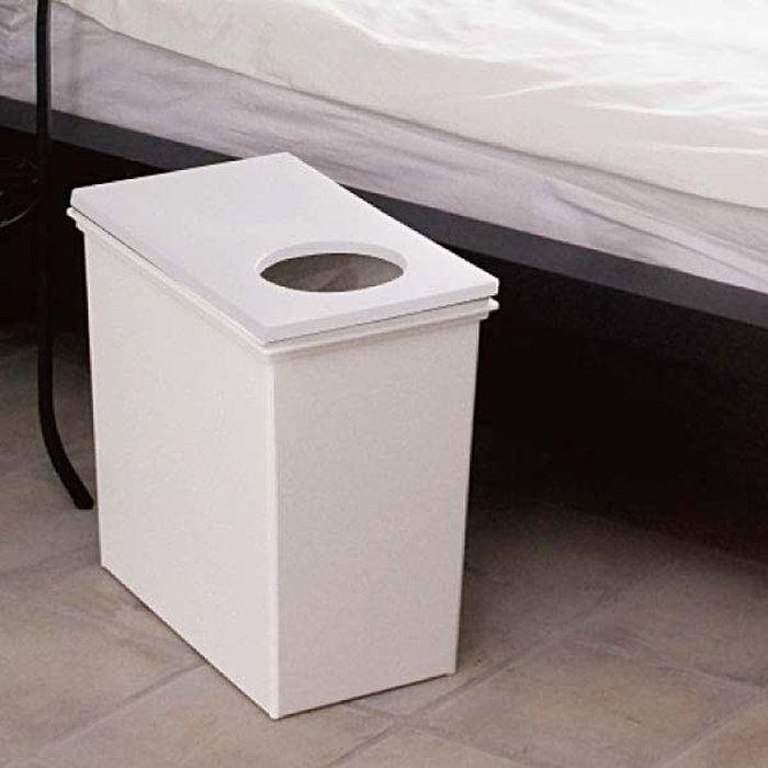 本体とフタが自分流に選べる新感覚のゴミ箱です。ダストボックス。【メーカー直販】【送料無料】イーラボスマートペール 45リットル (L) 本体 (ホワイト) ダストボックス ゴミ箱 ごみ箱 ごみばこ 天馬 おしゃれ くずかご ★★【10P09Jul16】