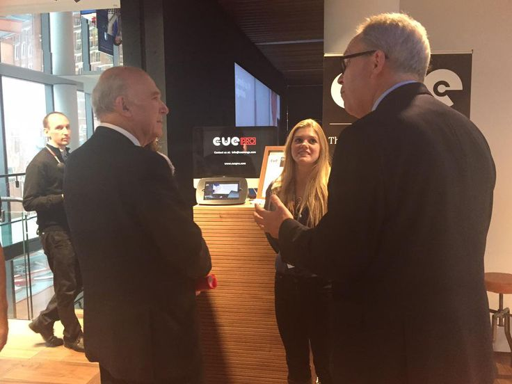 Digital Catapult Showcase - Vince Cable meeting CueSongs