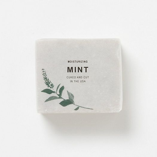 Mint Duo Soap - packaging design simple and serene