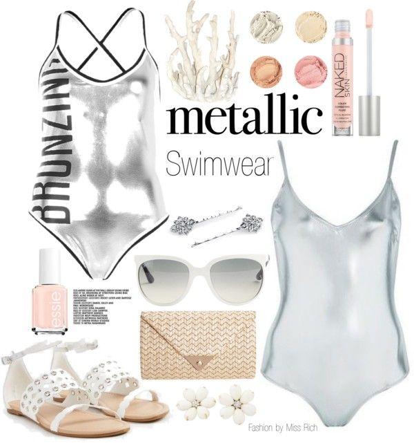 Metallic: Swimwear trend