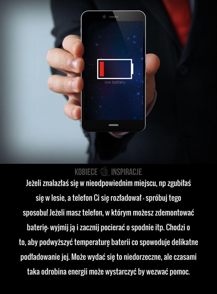 Jak uratować rozładowaną baterię w telefonie?