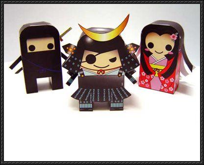 Sengoku Samurai Chess Free Paper Toys Download - http://www.papercraftsquare.com/sengoku-samurai-chess-free-paper-toys-download.html