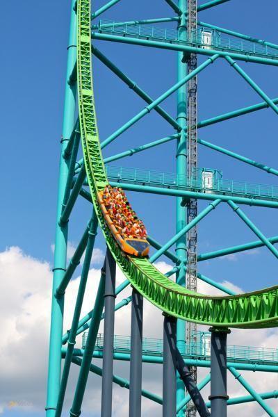 Kingda Ka – #Соединённые_Штаты_Америки #Нью_Джерси (#US_NJ) Kingda Ka - самые высокие американские горки в мире.  ↳ http://ru.esosedi.org/US/NJ/1000133401/kingda_ka/
