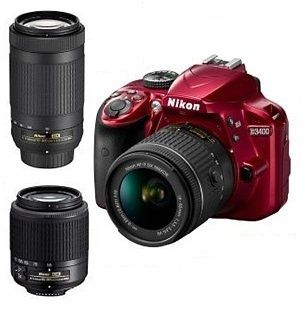 Save $100 on Nikon Refurbished D3400 24.2MP DSLR Camera 18-55 VR, 70-300 and 55-200 Lenses at https://goo.gl/DRzA6z   Best way to buy products from USA and Shipping to India is one and only ShopUSA. They are offering 3 day Shipping to India from USA Cheapest way.