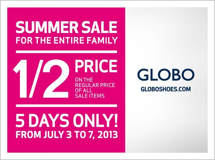 GLOBO's Summer Sale is here!
